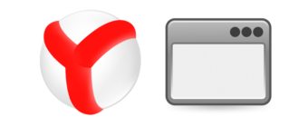 Всплывающее окно Яндекс Браузер