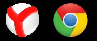 Yandex Browser ili Google Chrome